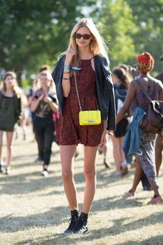 The Best Street Style From Governors Ball  - ELLE.com