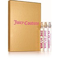 Juicy Couture Pen Spray Set #forthetrendsetter #giftguide #ultabeauty Makeup Gift Sets, Perfume, Body Spray, Smell Good, All Brands, Juicy Couture, Mascara, Skin Care, Cosmetics
