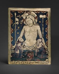 The Man of Sorrows via Medieval Art Medium: Champlevé enamel, gilded copper Gift of Georges Seligmann, in memory of his wife, Edna, his father, Simon Seligmann, and his brother, René, 1982 Metropolitan Museum of Art, New York,...