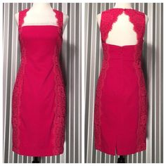 Pink Dress Beautiful and Classy dress. Excellent condition. Runs very true to size Aidan Mattox Dresses