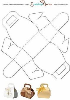Paper Purse Box Template Box Templates - Doll Food Printables A Day in the Life of Erin Template: DIY Purse-Shaped Gift Box (in Russian, but can figure it out). Find Best Souvenir Fruit filled gift baskets On the net. Along with plenty of Outcomes. Diy Gift Box, Diy Box, Diy Gifts, Printable Box, Cardboard Paper, Paper Gifts, Gift Bags, Diy And Crafts, Foam Crafts