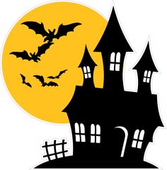 Halloween Window, Halloween Home Decor, Halloween Crafts, Halloween Decorations, Halloween Banner, Wall Decorations, Halloween Illustration, Halloween Clipart, Halloween Drawings