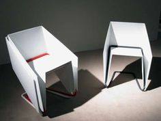 PÁP Chair - Martha Schwindling PÁP is a chair with a shape derived from a folded sheet of paper.