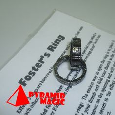 Black / Gold Foster 's  Himber Ring Cool Style Stage Close-Up Magic Trick close-up street card magic tricks product   http://www.buymagictrick.com/products/black-gold-foster-s-himber-ring-cool-style-stage-close-up-magic-trick-close-up-street-card-magic-tricks-product/  US $36.00  Buy Magic Tricks