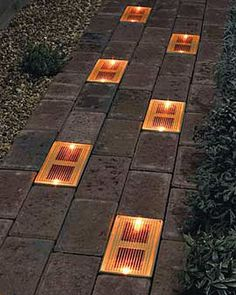 Solar Bricks, set of 2