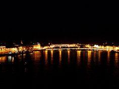 San Petesburgo, sus puentes sobre el rio Neva- Nocturno