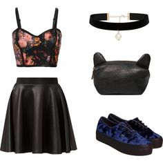Без названия #3 by alisa-mironova on Polyvore featuring мода, Cameo Rose, Vans and Forever New