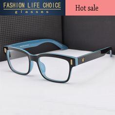 2e7faeb768b14 NewV Em Forma de Caixa de Óculos de Armação Homens vidros do olho Óptico  óculos Armação de Marca Para As Mulheres Da Moda Eyewear Armacao De Oculos  De grau ...