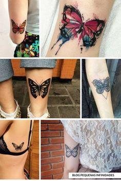 Inspiração: Tatuagem de Borboletas