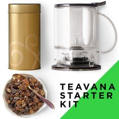 Start your perfect tea experience with this set. Includes:  - Black Teavana® 16 oz Perfectea Maker  - 1 lb perfect rock sugar  - Gold Teavana Tea Tin