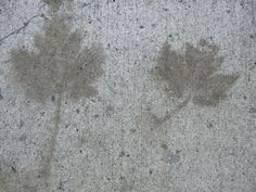 After the bombing of Hiroshima (after the explosion some shadows remained fixed in the walls and pavements)