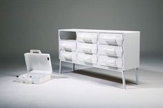 Take Out – Furniture with Portable Valises