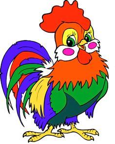 1f5ec (367x459, 215Kb) Cartoon Kunst, Cartoon Drawings, Easy Drawings, Cartoon Art, Painting For Kids, Drawing For Kids, Art For Kids, Paw Print Art, Cartoon Chicken