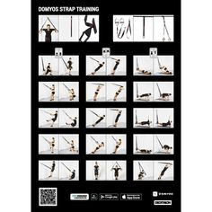 Fita de Suspensão Cross-Training Strap Training 100 Trx, Cross Training, Pilates, Muscular, Presentation, Health Fitness, Challenges, Workout, Sports