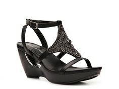 Andrew Geller Anderson Wedge Sandal except in grey instead of black