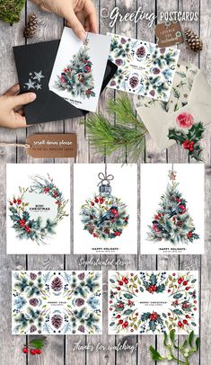 Craft Gifts For Father - Fantastic Present Strategies Mr.Bullfinch Watercolor Clipart Xmas By Southpaw Art Studio On Creativemarket Christmas Tree Drawing, Christmas Art, Christmas Tree Decorations, Vintage Christmas, Winter Christmas, Ideas Decoracion Navidad, Navidad Diy, Trendy Tree, Christmas Illustration