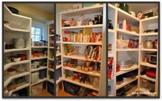 This Mom of 6 organizes her kitchen amazingly well! Love it!