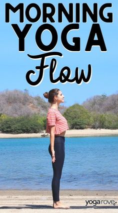 This is the perfect morning yoga flow to practice to get your day started with energy and excitement! 10 Minute Morning Yoga, Morning Yoga Flow, Morning Yoga Routine, Yoga Routine For Beginners, Yoga For Flexibility, Yoga At Home, Restorative Yoga, Types Of Yoga, Yoga Quotes