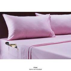 100% Cotton Pocket Sheet Set - Assorted Colors at 67% Savings off Retail!