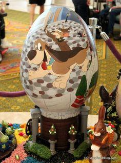 Photo Tour: The 2015 Grand Floridian Resort Easter Egg Display in Walt Disney World