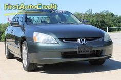 Check out this 2004 Honda Accord EX in Gray from First Auto Credit in , MO 63755. It has an automatic transmission. Engine is 3.0L SOHC 24-valve V6. Call Customer Service at 573-204-7777 today!