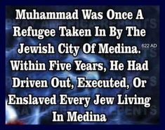 Here's a short history lesson on Muhammad and his entrance into Islam's now holy city of Medina as a refugee