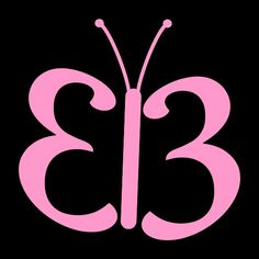 Butterfly vinyl decal. Great for car or truck windows, laptops, lockers, mirrors, and more! Can be applied on any SMOOTH surface. Vinyl colors come in Blue, Pink, or White. #butterflies #butterfly