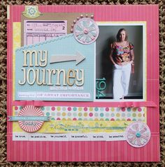 I like this Weight Loss scrapbook page... Wonder if I can do my own version digitally? hmmmmm... something to work towards.