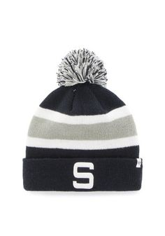 618593cbe9c  47 Penn State Nittany Lions Navy Blue Breakaway Cuff Knit Hat Knit Hat For  Men