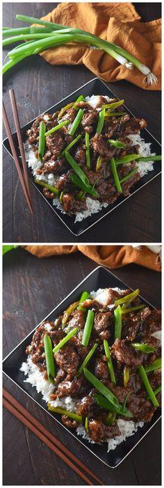 """""""Mongolian Beef Recipe: https://t.co/keFY6SA5cL #foodporn"""""""