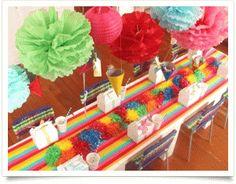 Simply stylish Rainbow Party