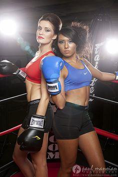 Fitness Model Boxing Photo Shoot - Detroit Photographer #ToughAsNails - Fitness model pose ideas