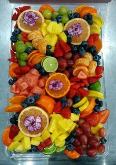 Fruit platter fruit tray fruit art