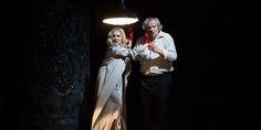 Met Opera's modernistic production of Verdi's Macbeth set in 1940s