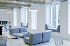 Chaise longue tapizada de tela de estilo moderno W   Chaise longue - Sedes Regia