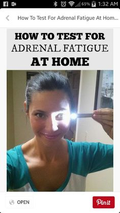 Pt 1 - Test for Adrenal Fatigue at Home