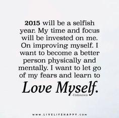 Love myself ...I admit I want/need some 'upgrade'
