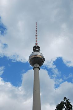 Fernsehturm, Berlin.  Copyright by Rodrigue R.R. Brugger, 2015
