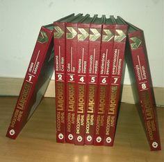 Enciclopedia Larousse Juvenil 8 Tomos Completa Editorial Argos Vergara Dura Enciclopedia Larousse Enciclopedias Editorial