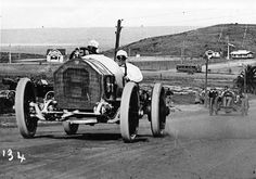 The San Diego Exposition Road Race Centennial: This photo shows Earl Cooper in his Stutz on the way to winning the 1915 Road Race. Learn all about the original event and the Centennial gathering at: http://theoldmotor.com/?p=136461