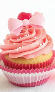 Shirley Temple Cocktail Cupcakes....I See One Of These With A Dirty Shirl On The Side In My Near Future!!