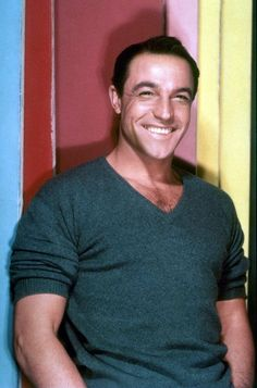 "Gene Kelly. That smile gets me every  Beats any of today's hollywood ""men"" Hands down."
