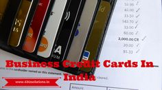 Business credit card in india