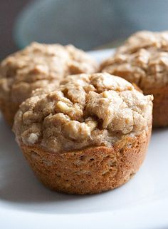 Low-carb banana muffins... Great for morning snack and you won't feel guilty!!