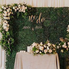 Top 10 Luxury Wedding Venues to Hold a 5 Star Wedding - Love It All Head Table Wedding, Flower Wall Wedding, Wedding Reception Backdrop, Wedding Wall, Wedding Stage, Star Wedding, Wedding Centerpieces, Floral Wedding, Dream Wedding