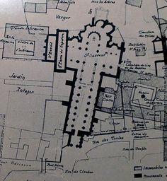 Pre Romanesque, Martial, Floor Plans, Diagram, Architecture, Gardens, Vienna, Arquitetura, Architecture Illustrations