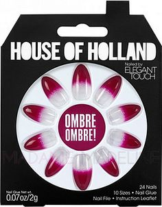 House Of Holland Nails By Elegant Touch - OMBRE OMBRE #nails #hoh #ombre