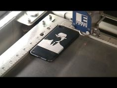 Demo of Epilog Mac Driver - iPod Touch Engraving
