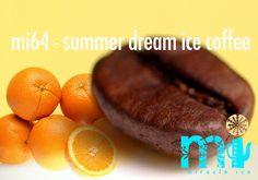 "mi64 - ""summer dream ice coffee""       koffie I vanilla ice cream I orange juice & likeur I baileys I hazelnoot sirup Summer Dream, Iced Coffee, Cocktails, Fruit, Food, Craft Cocktails, Meal, The Fruit, Essen"