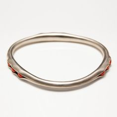 """Pea Pod Bangle Rectangular now featured on Fab.  I was told in Italy to... 'DONT STOP MAKING JEWELRY IN AMERICA"""" i told my teacher i wouldnt... guess what... i havent made any jewelry of this kind since Florence... this inspires me to get back into it."""